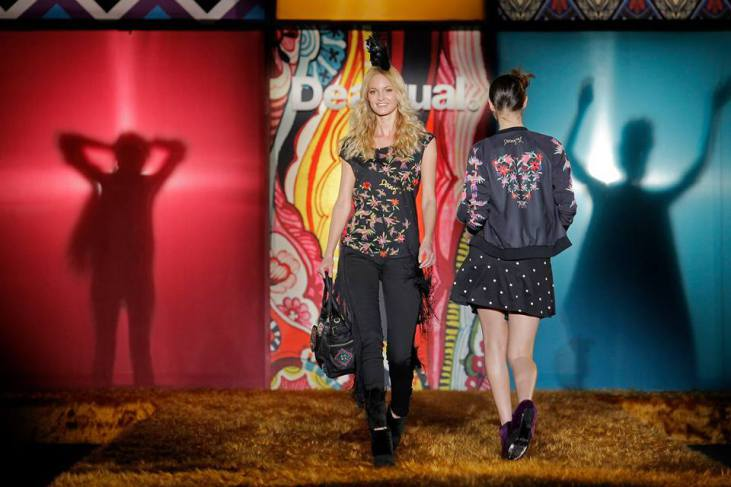 Desigual Show. Źródło: Facebook www.Differentfashion.cz