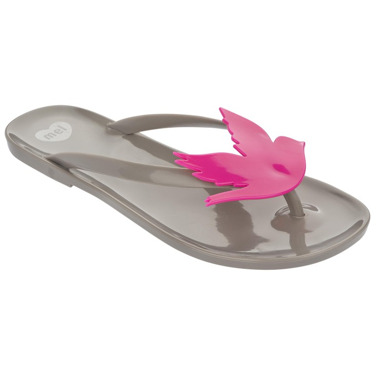 Mel Lilly Pilly Grey / Pink