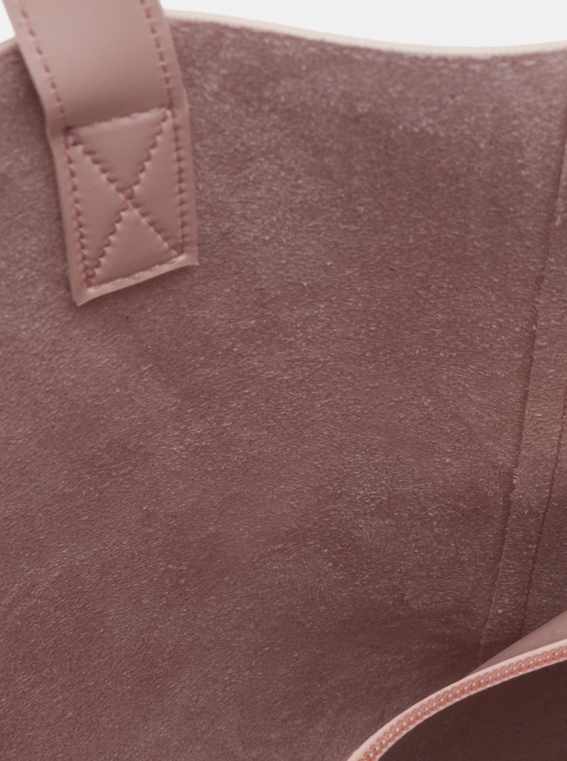 Claudia Canova różowy duża torebka
