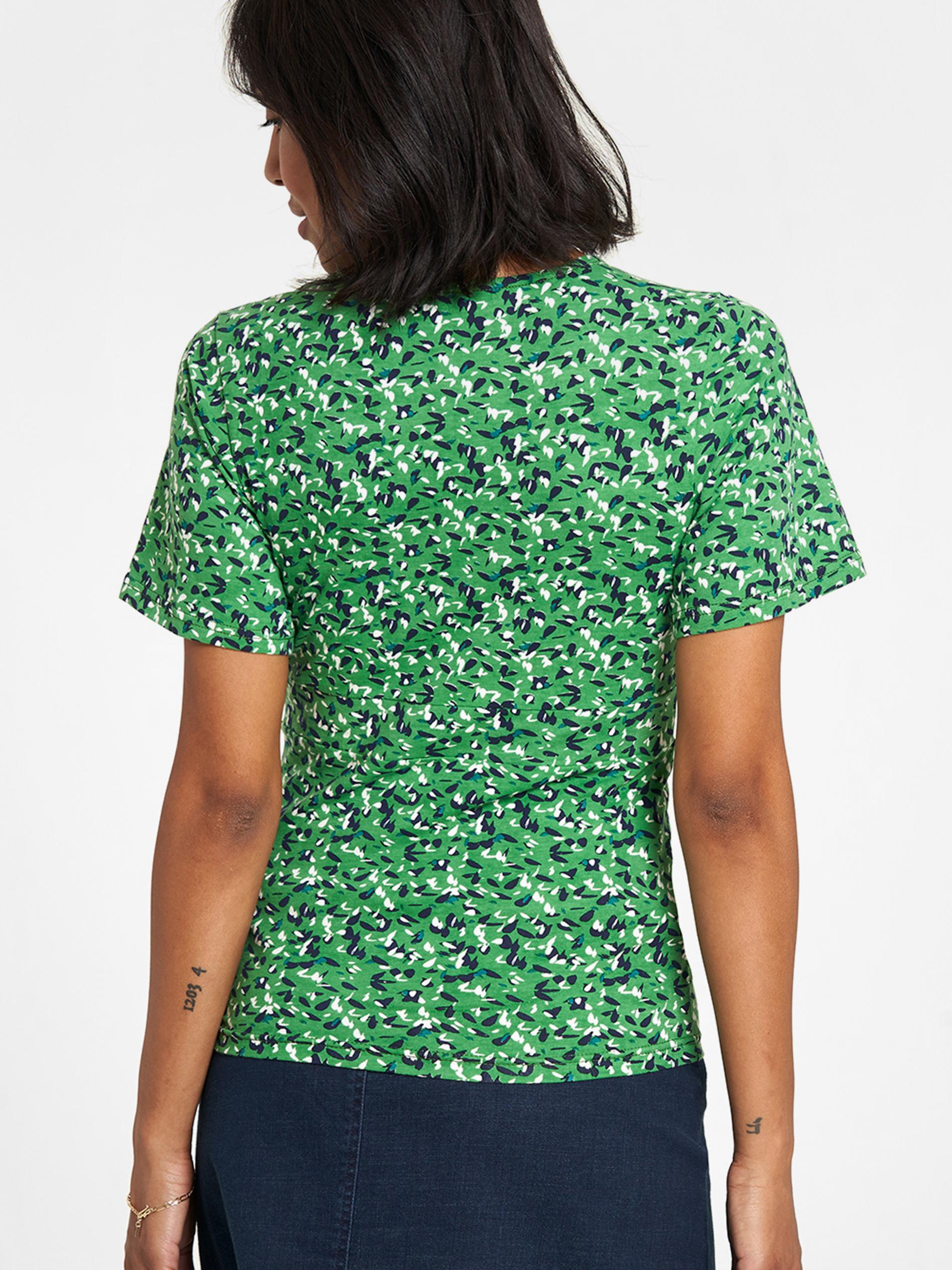 Tranquillo zielony koszulka z wzorem