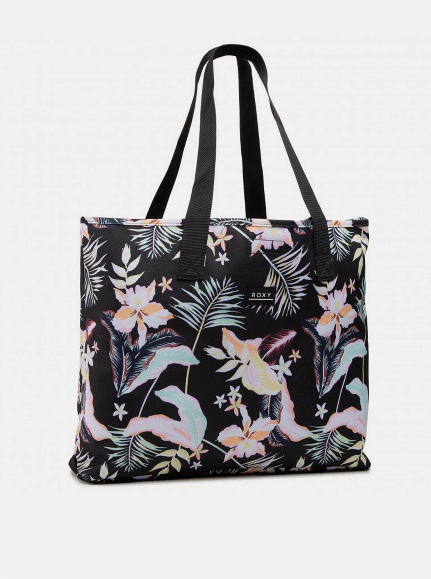 Roxy czarny torba plażowa