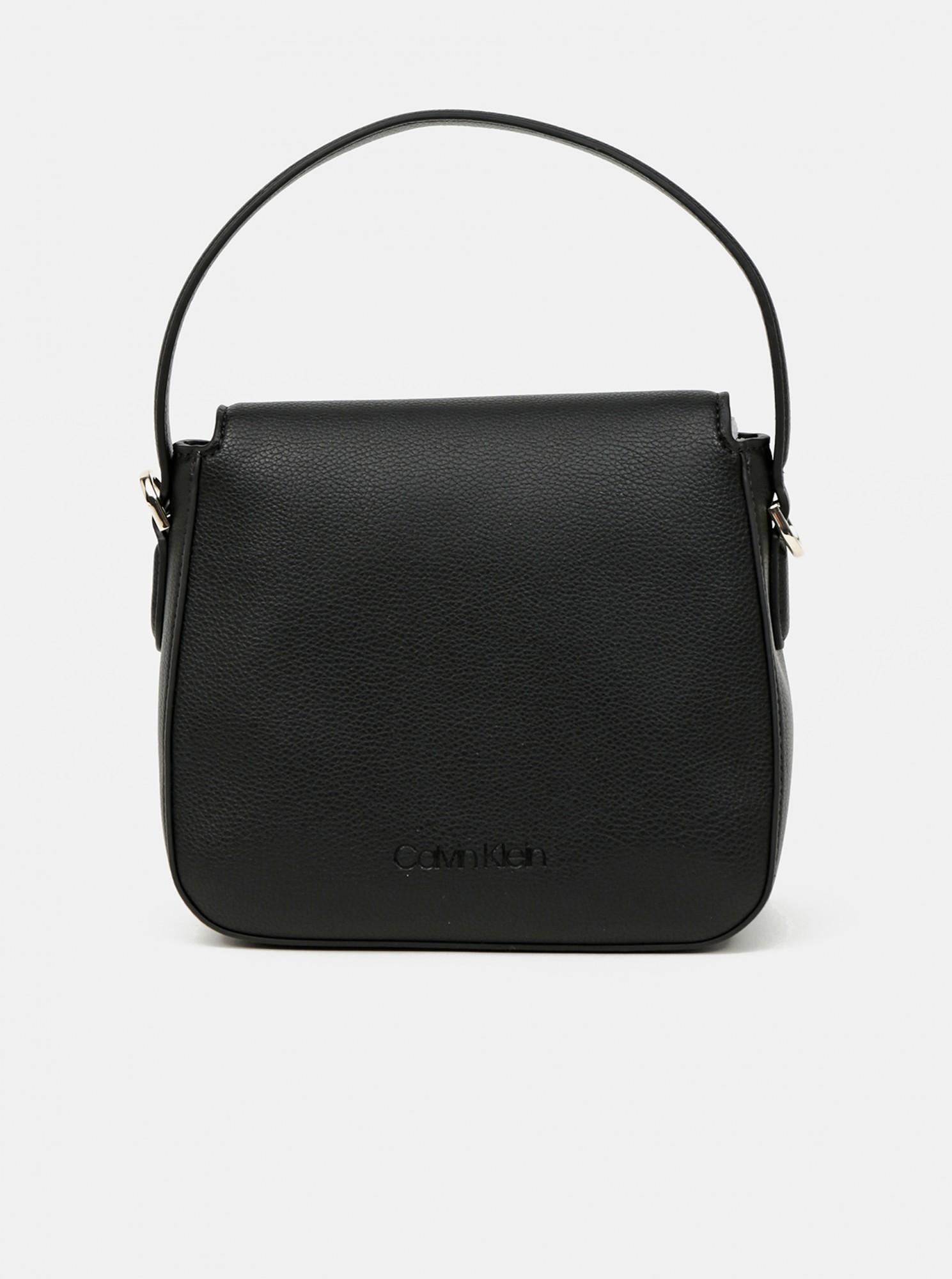 Calvin Klein czarny torebka Hobo W/Flap