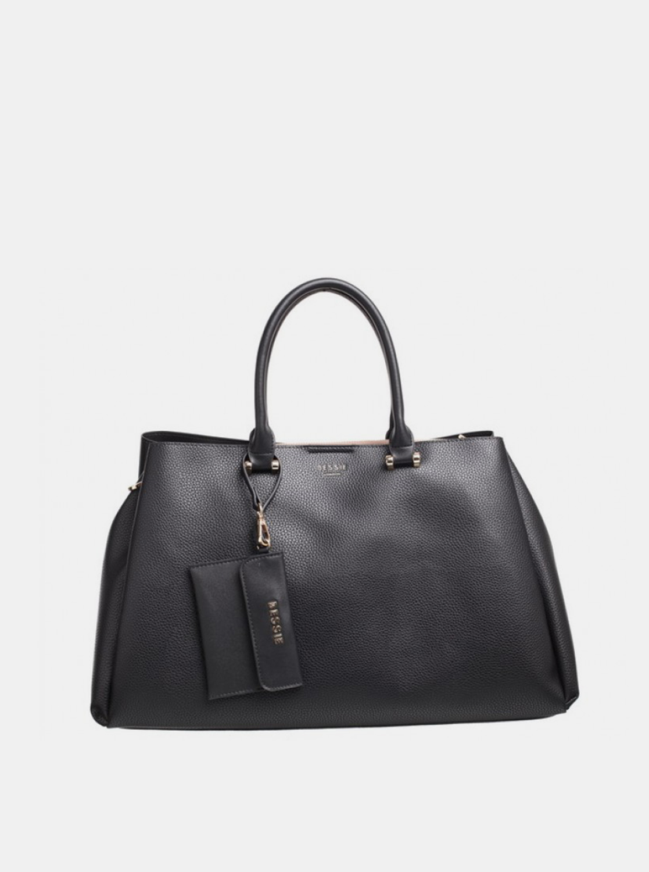 Bessie London czarny torebka