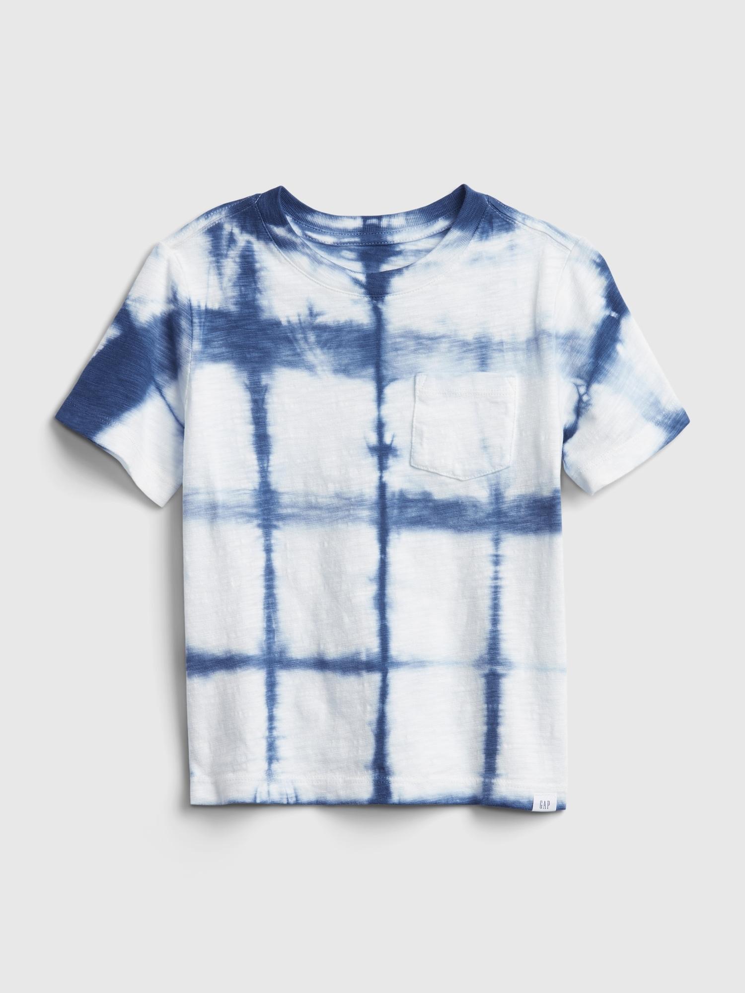GAP Koszulka chłopięca niebieski