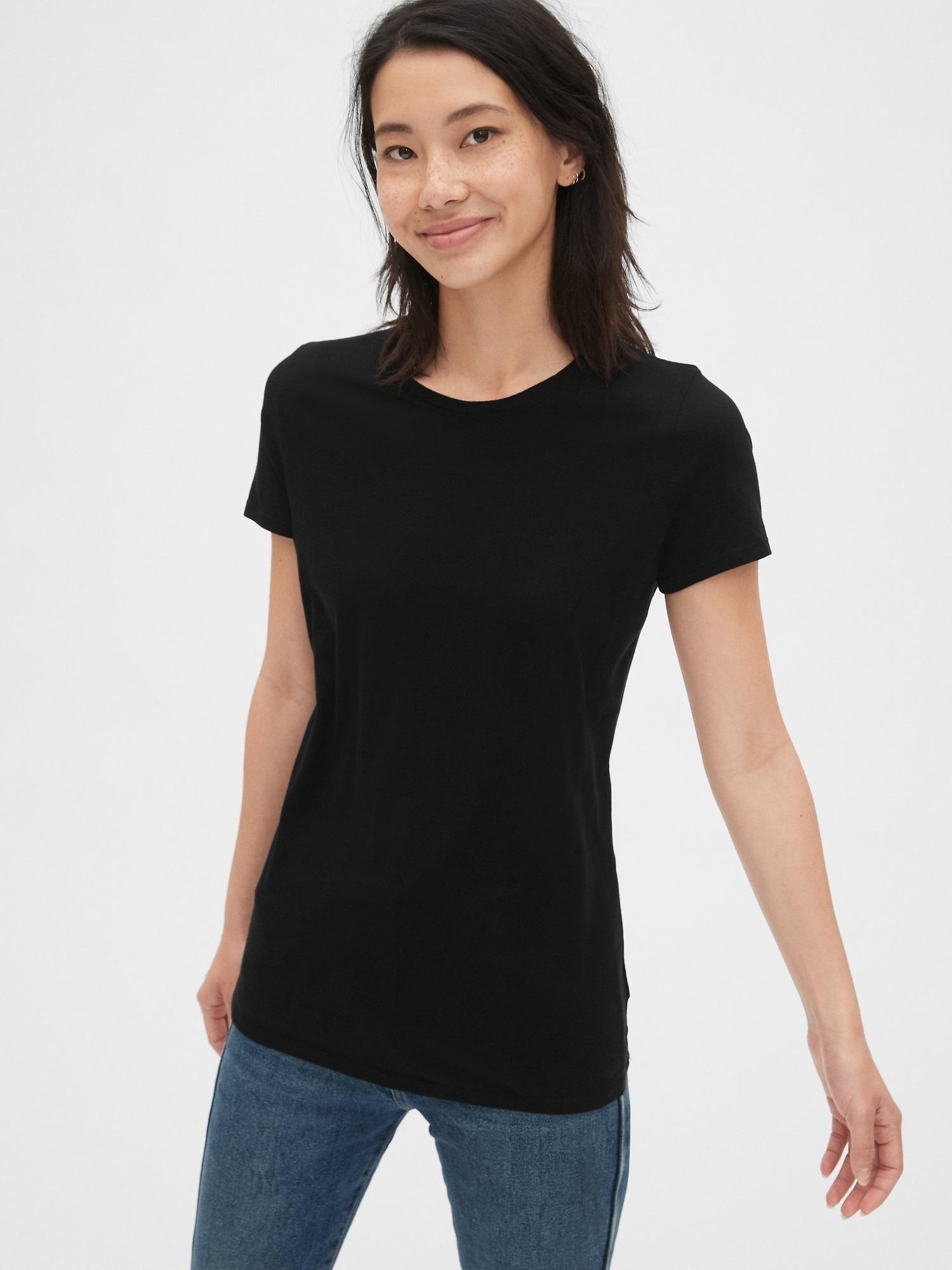GAP Koszulka damska czarny Vintage