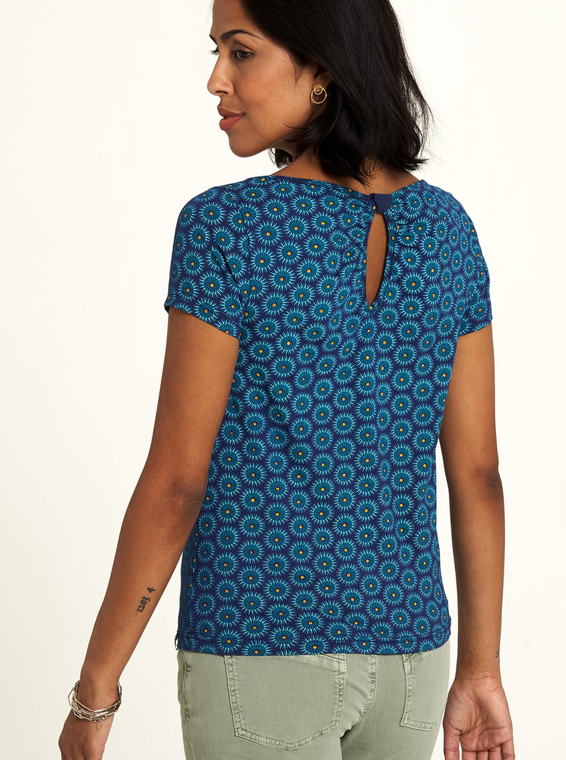 Tranquillo niebieski koszulka z wzorem