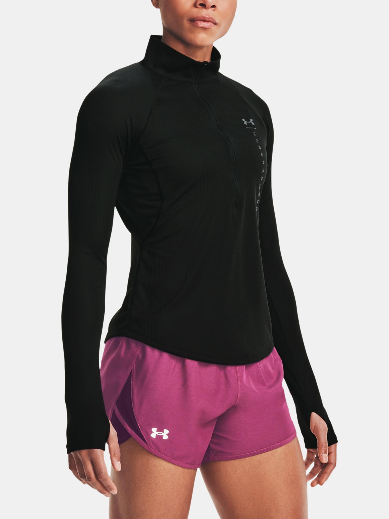 Under Armour czarny damska koszulka UA Speed Stride Attitude HZ