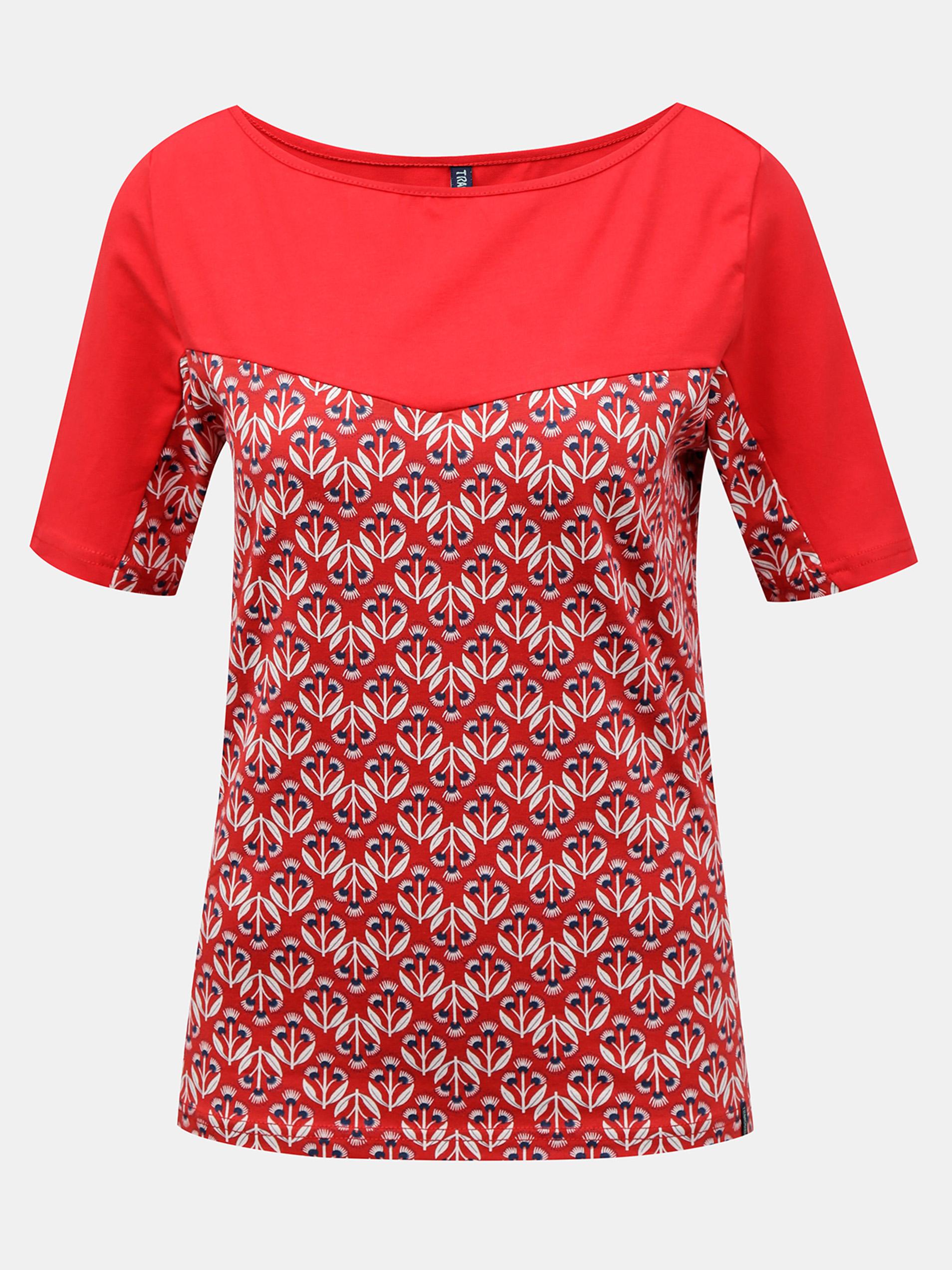 Tranquillo czerwony koszulka z wzorem