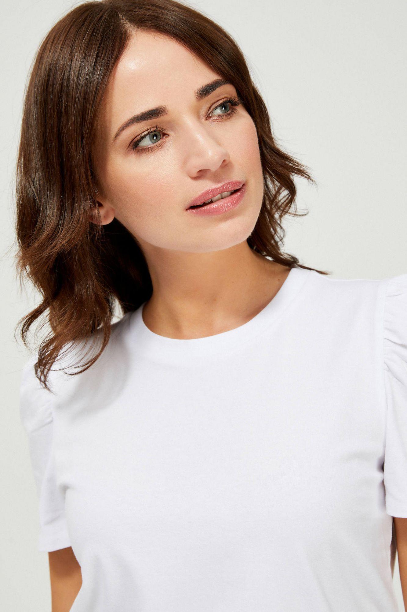 Moodo biały koszulka