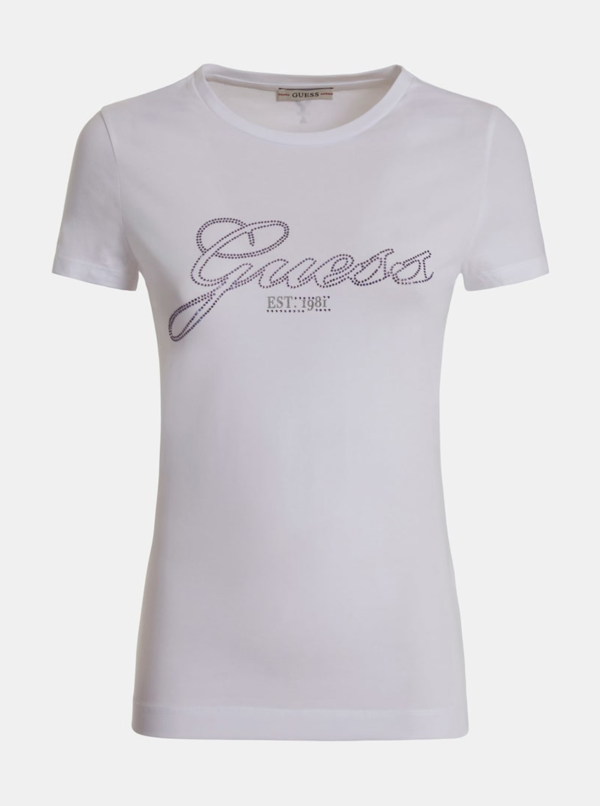 Guess fioletowy koszulka Selina