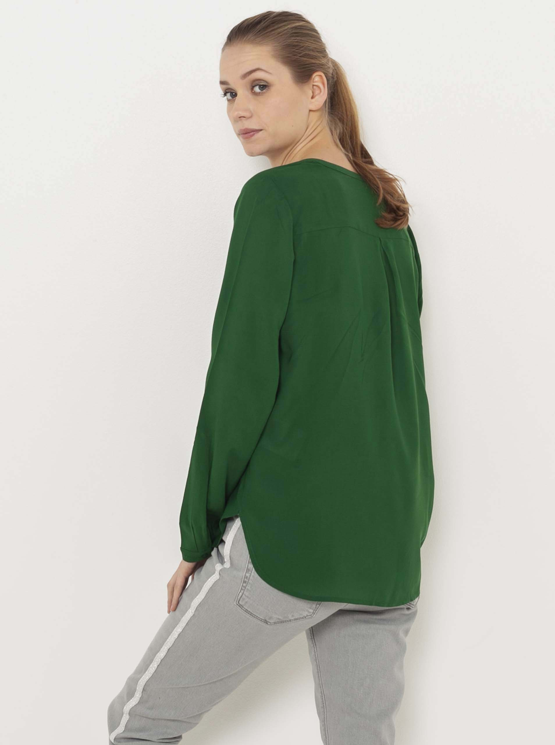 CAMAIEU zielony bluzka