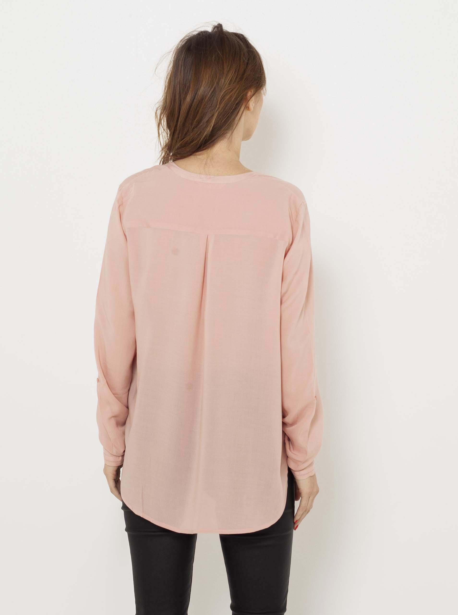 CAMAIEU różowy damska bluzka