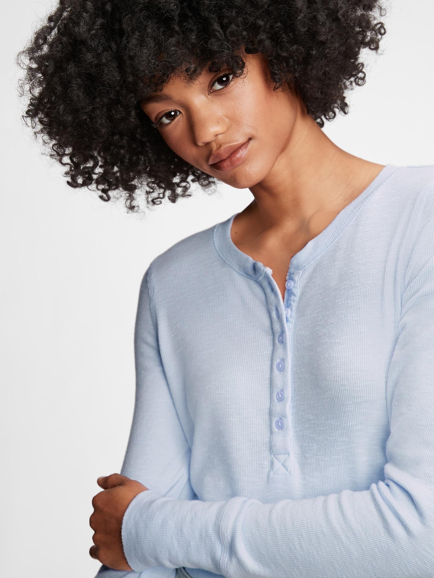 GAP Koszulki, topy damskie niebieski