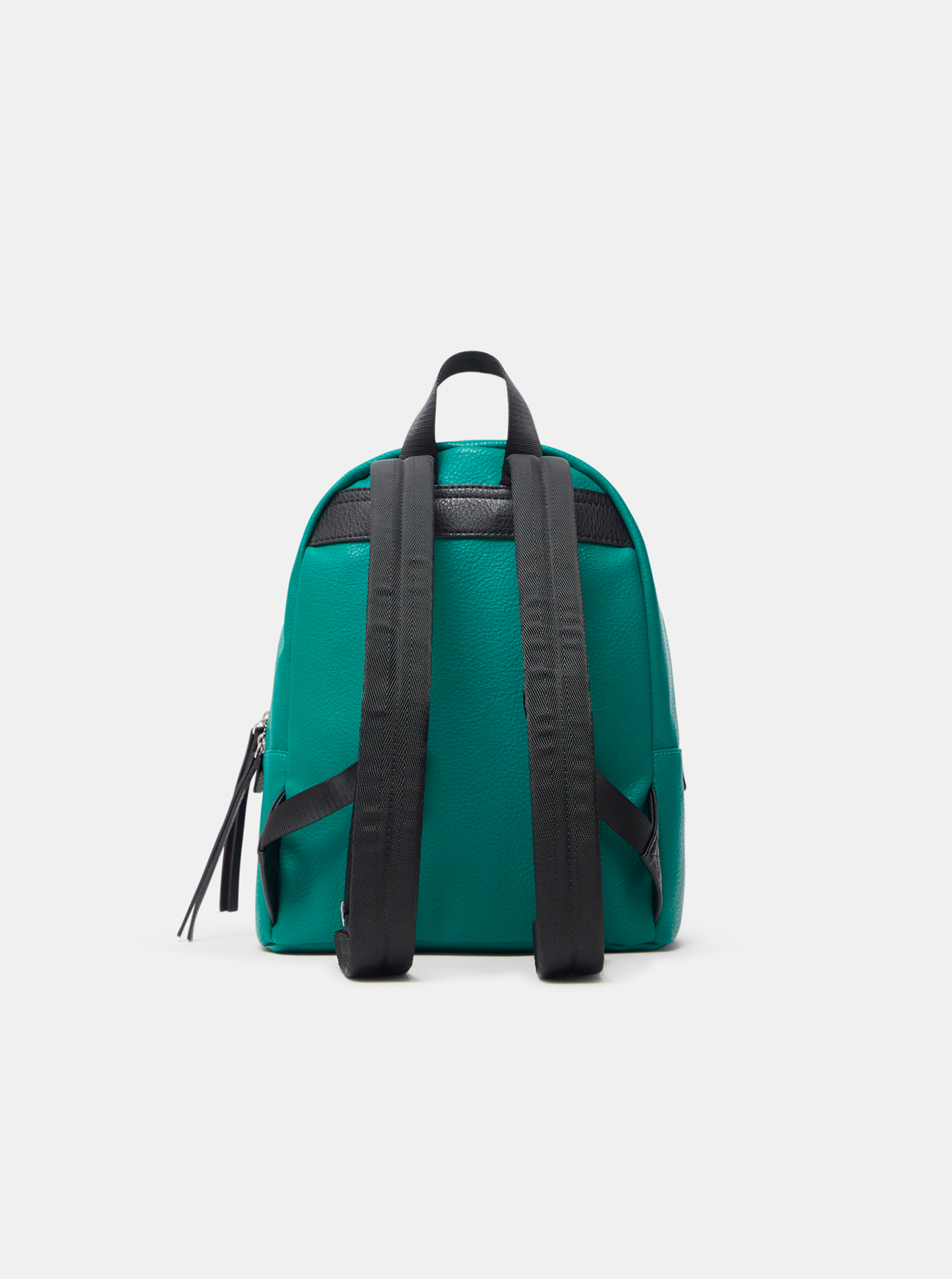 Desigual zielony plecak Embossed Half Mombasa Mini