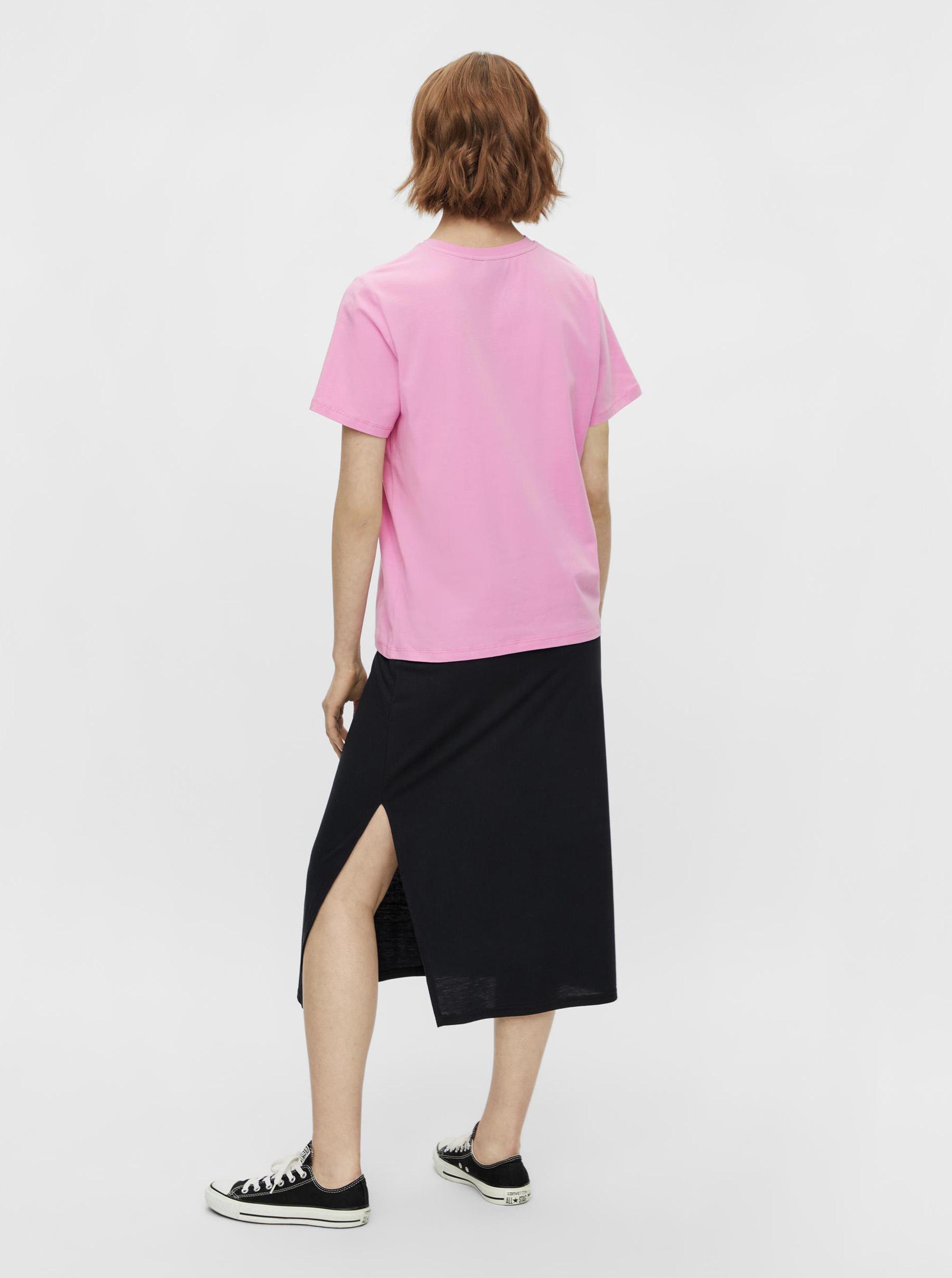 Pieces różowy koszulka Niru