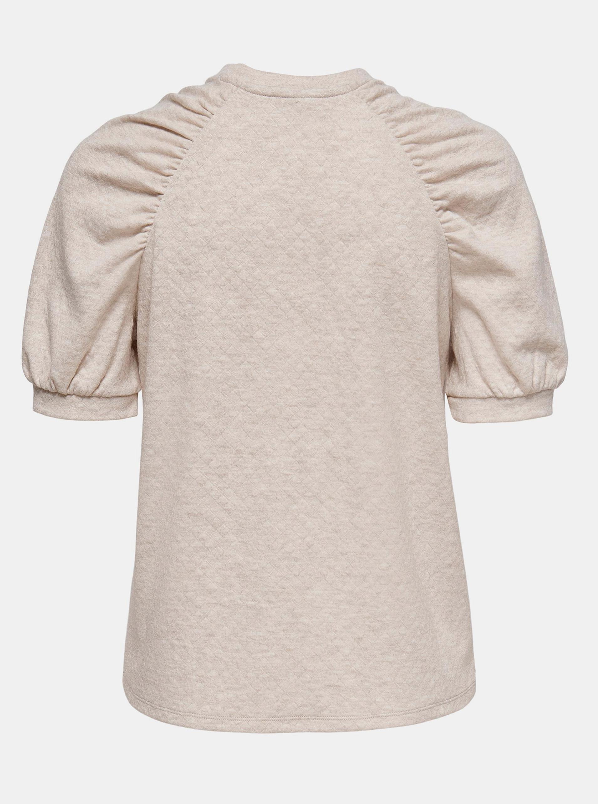 Jacqueline de Yong beżowy bluzka Gloria