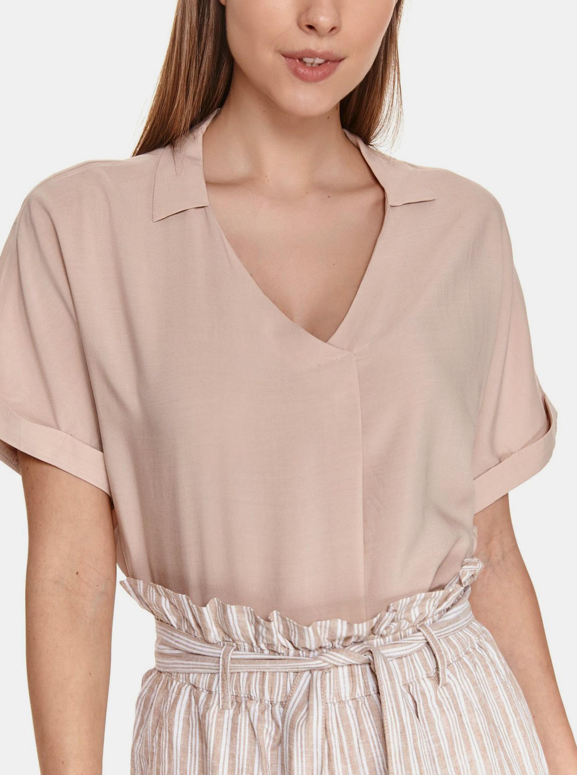 TOP SECRET beżowy bluzka