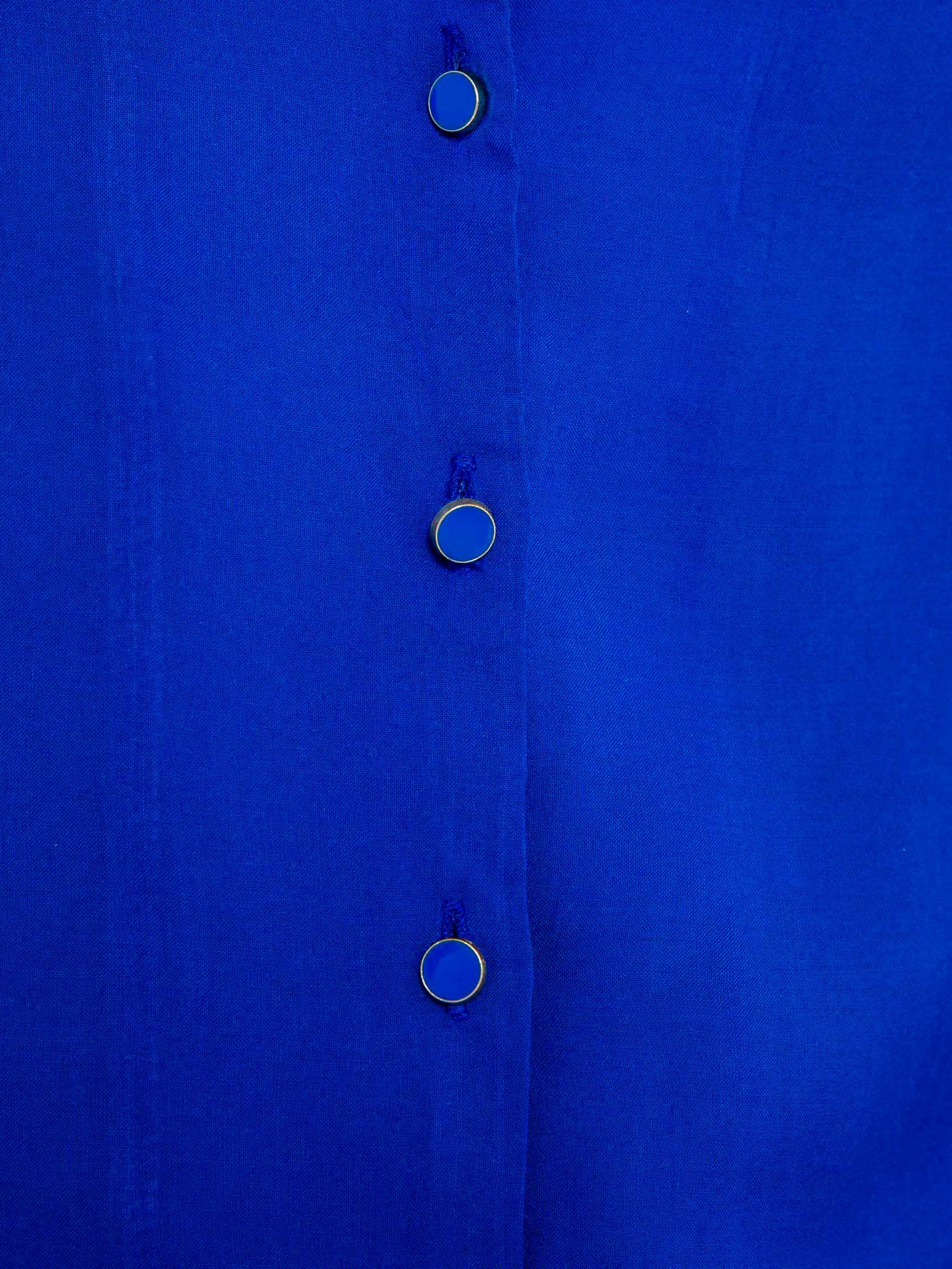 CAMAIEU niebieski bluzka