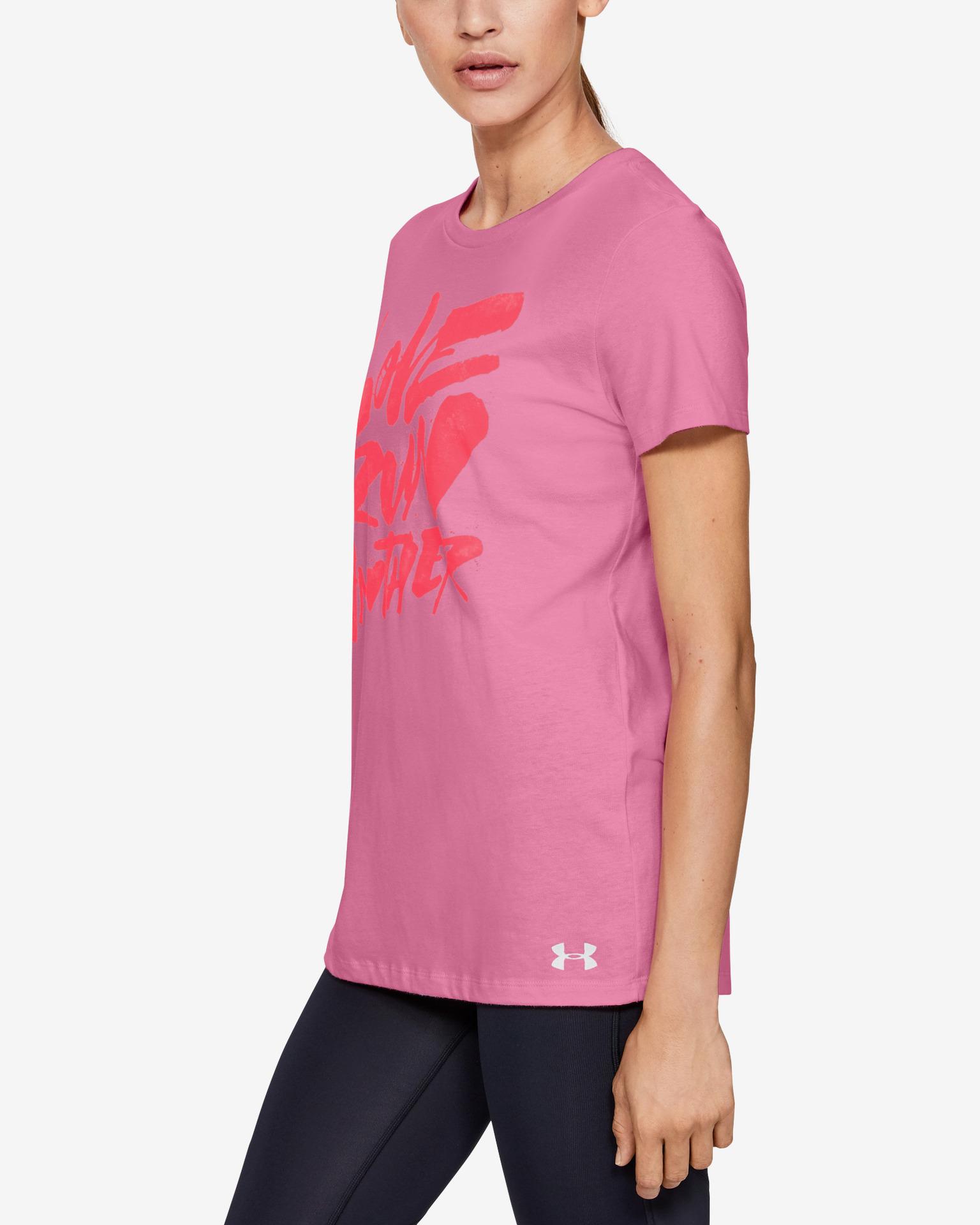 Under Armour Koszulka damska różowy  Run