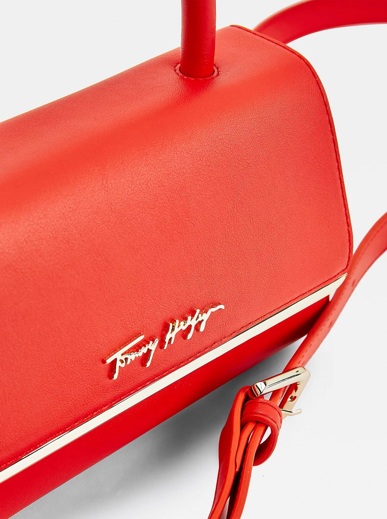 Tommy Hilfiger czerwony crossbody mała torebka