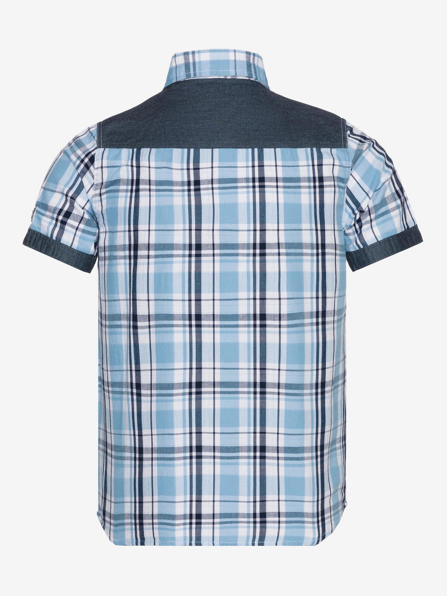 Guess Koszula dziecięca Niebieski