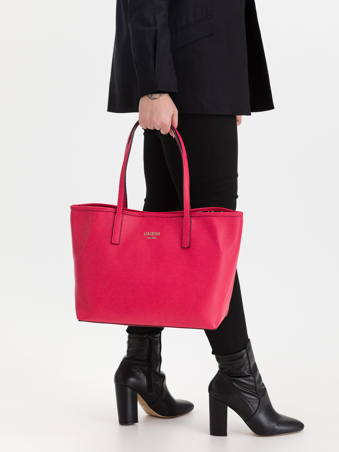 Guess różowy torebka Vikky