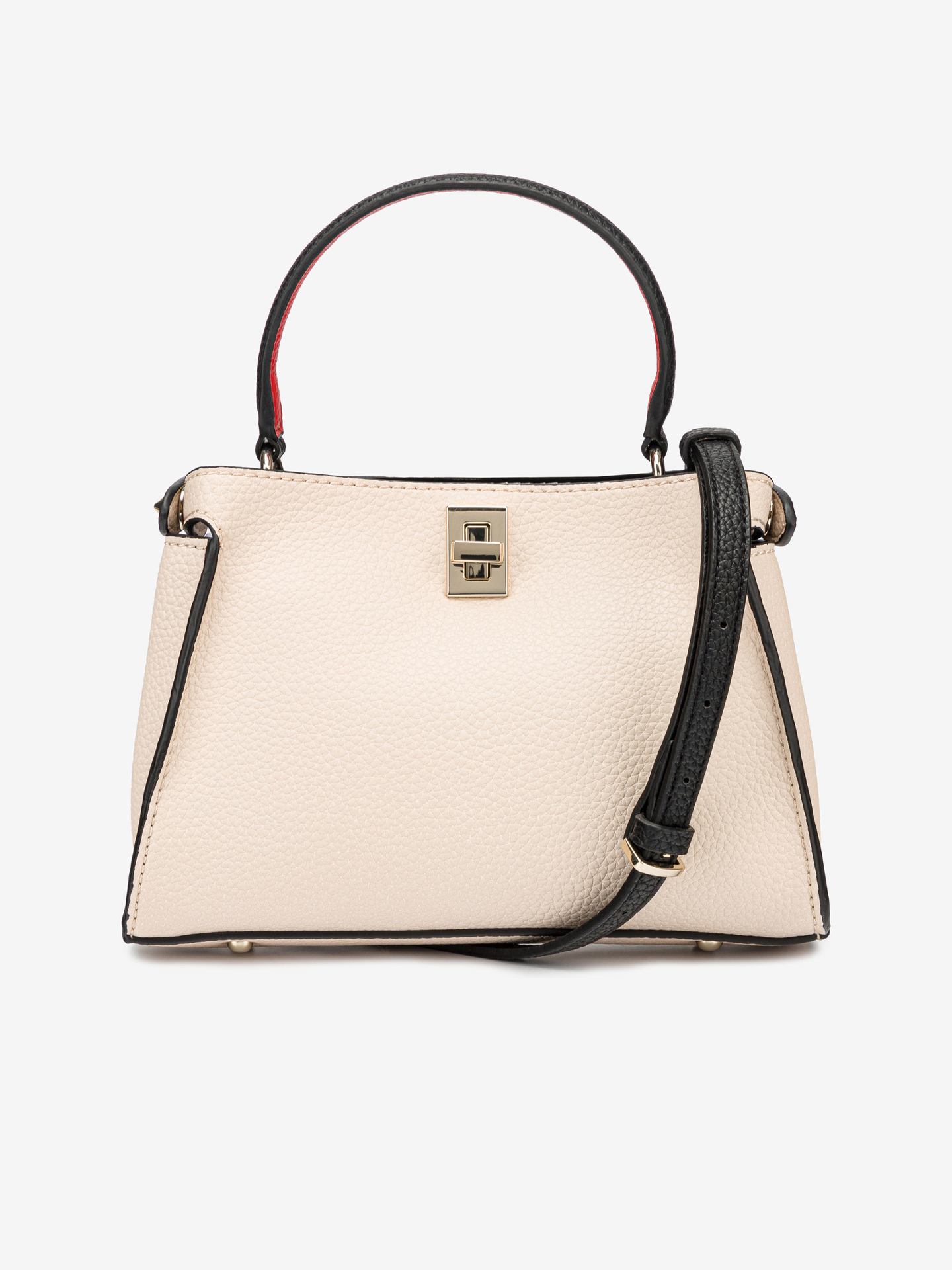Guess beżowy torebka Uptown Chic Small