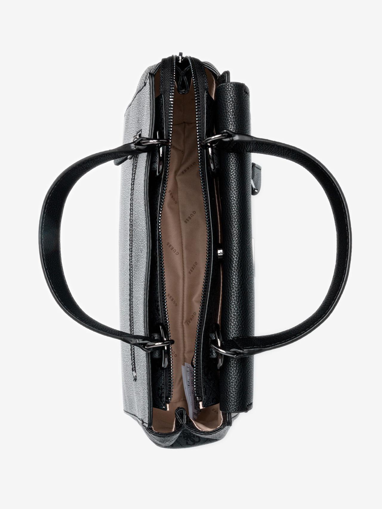 Guess czarny torebka Valy Large
