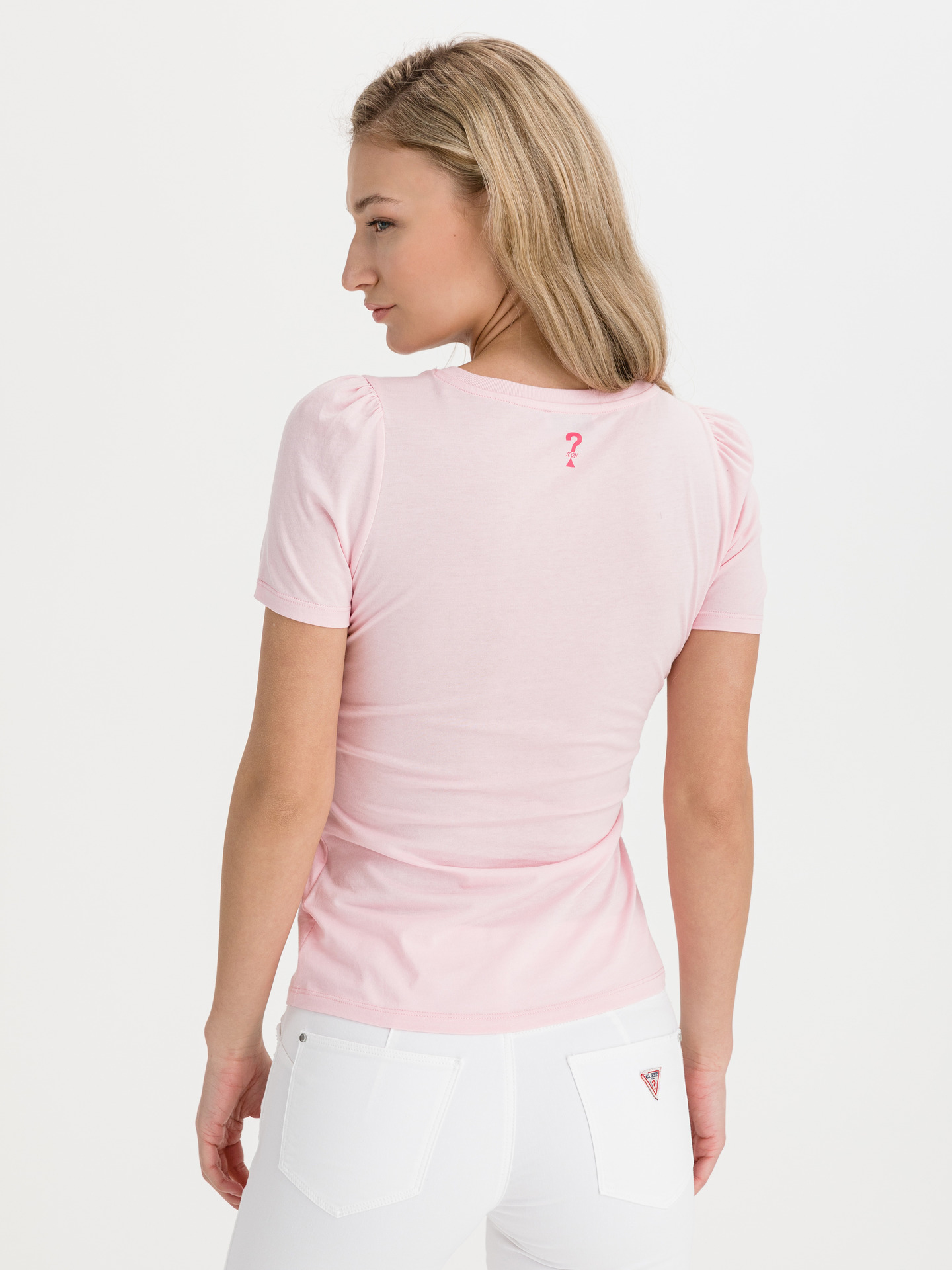 Guess różowy koszulka Marisol