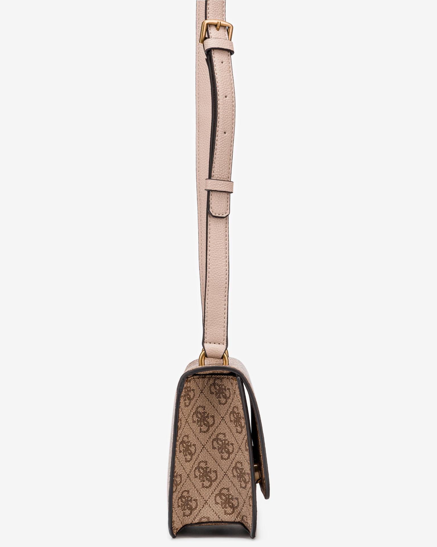 Guess brązowy crossbody torebka Noelle Mini