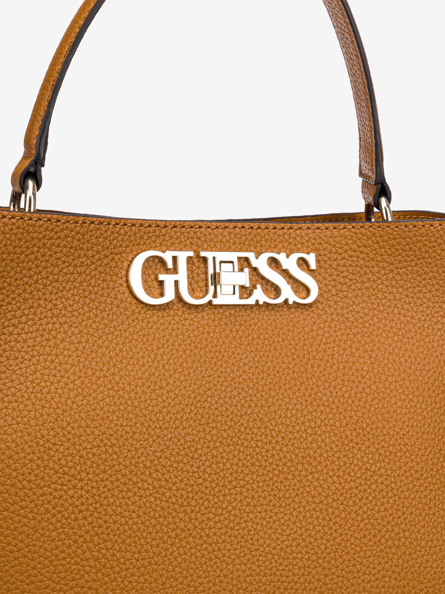 Guess brązowy torebka Uptown Chic Large