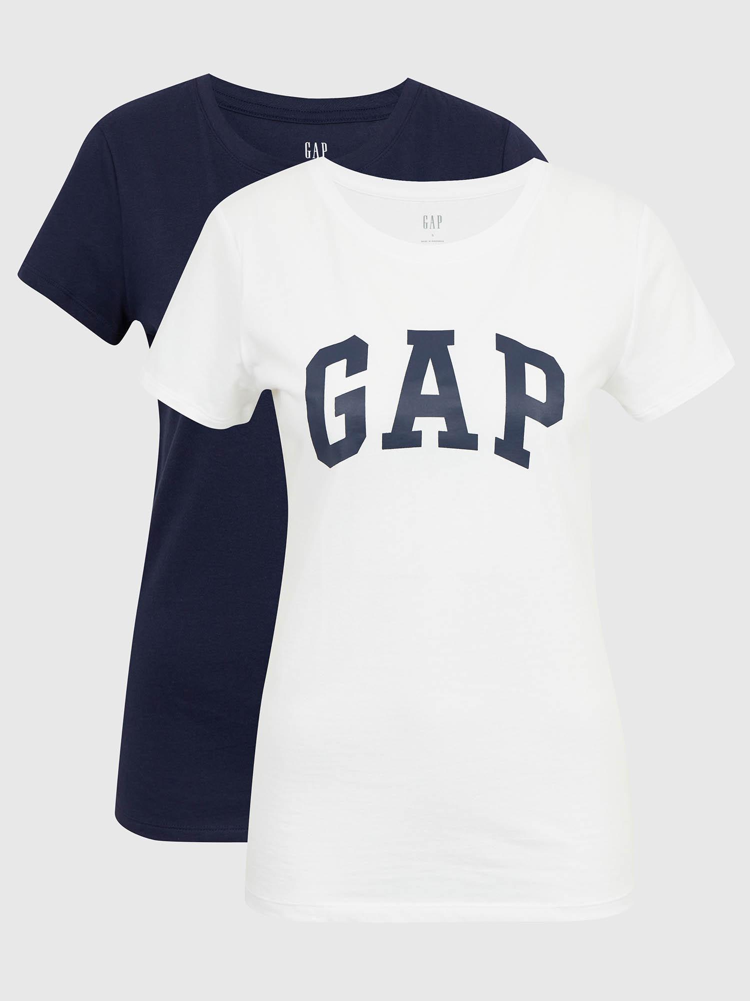 GAP Koszulka damska niebieski