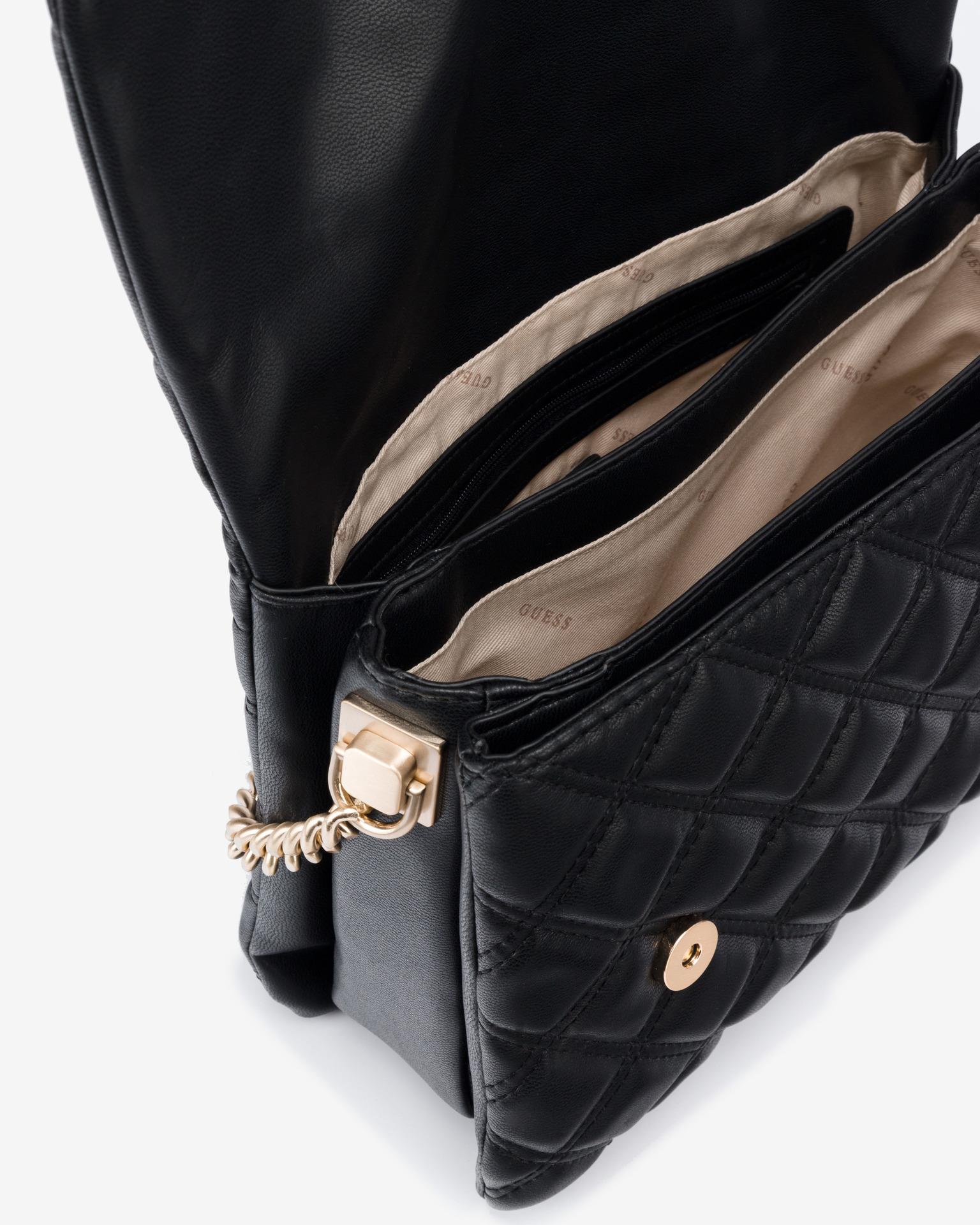 Guess czarny torebka Kamina