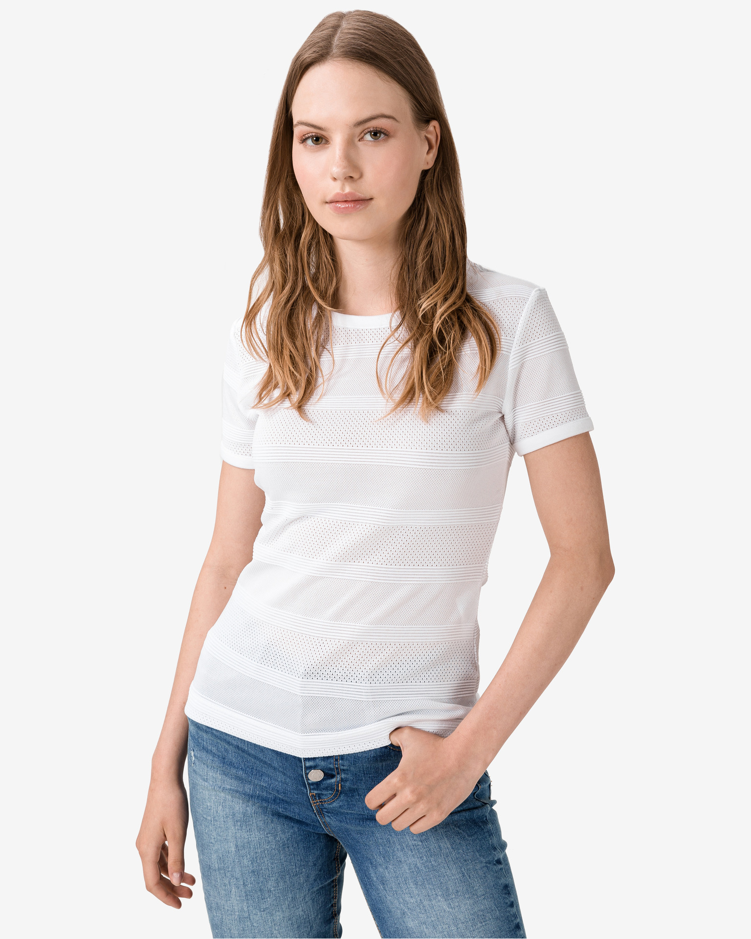 Guess Koszulka damska biały Top