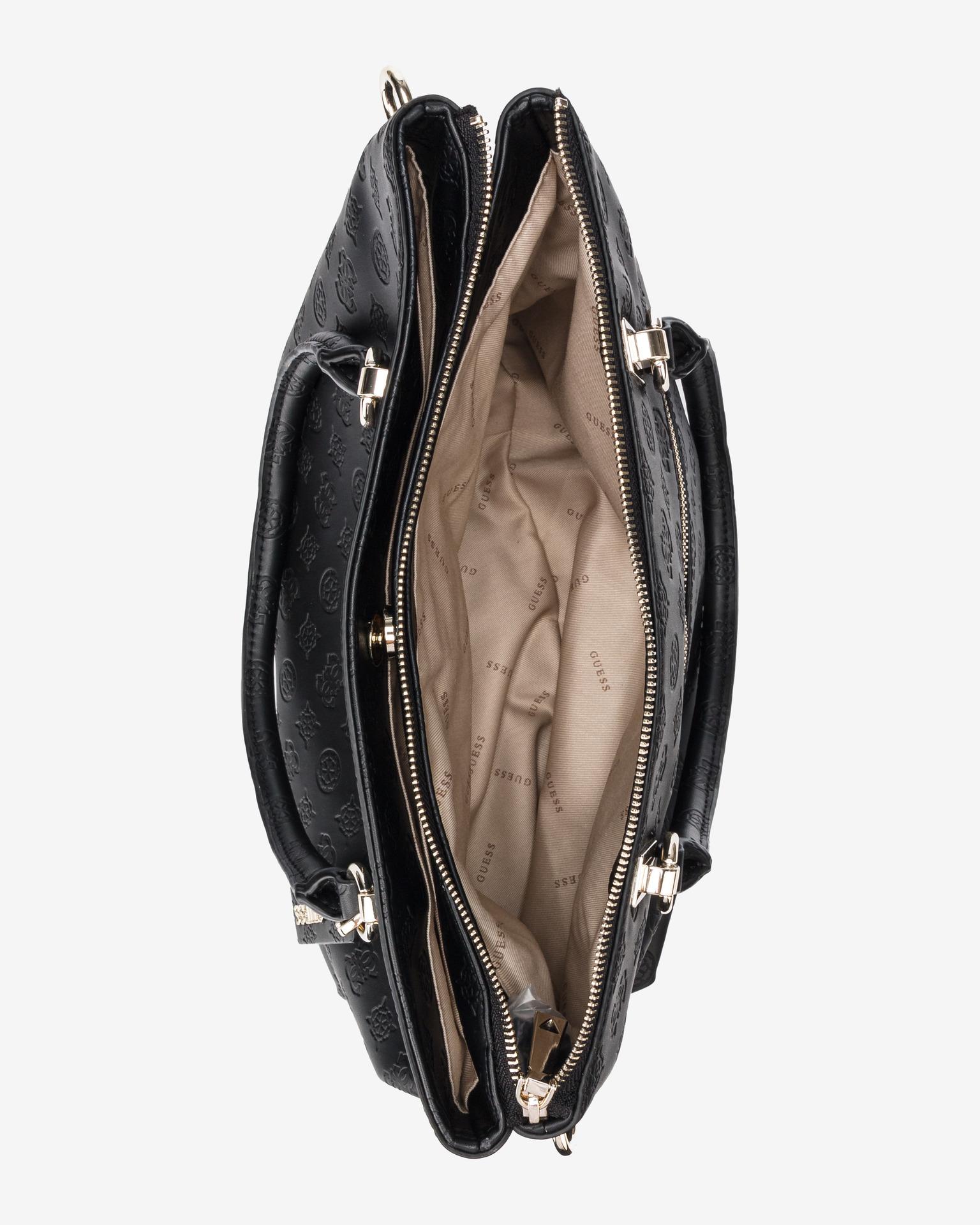 Guess czarny torebka Ninnette Satus Carryall