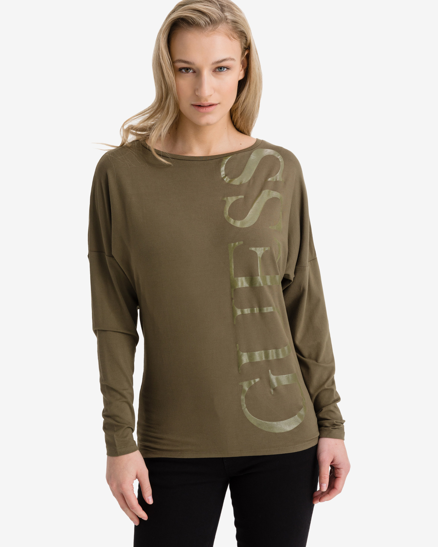 Guess zielony koszulka Karolina