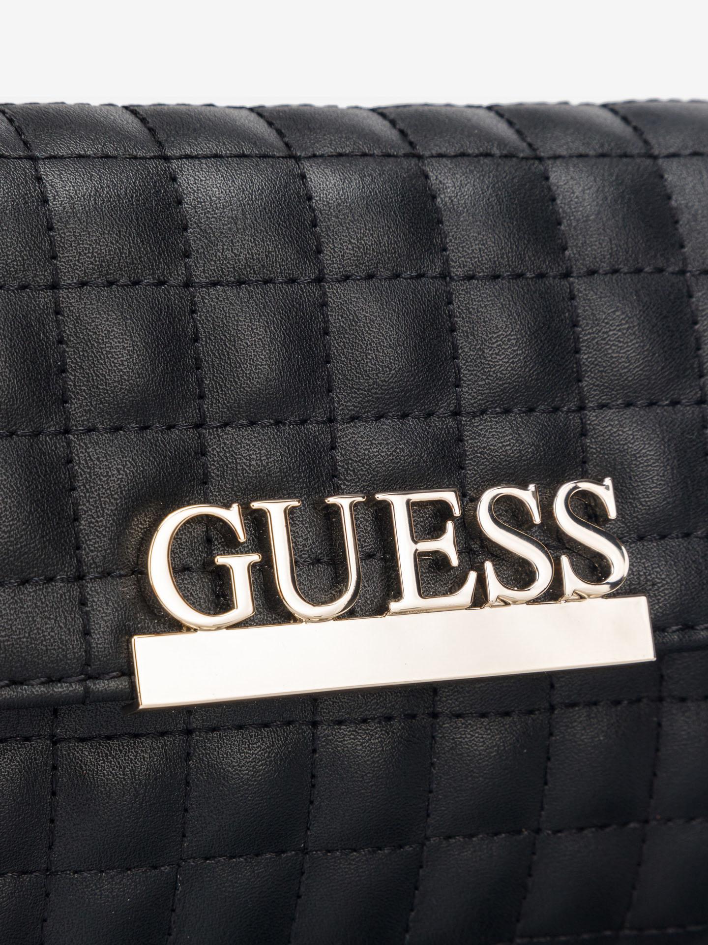 Guess czarny torebka biodrowa Matrix