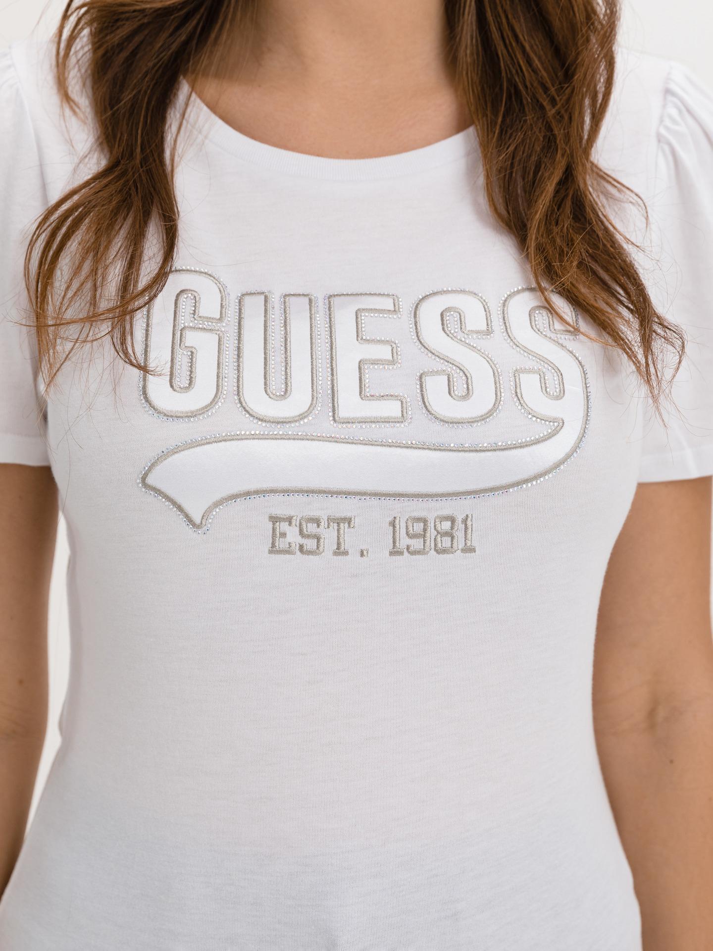 Guess biały koszulka Marisol