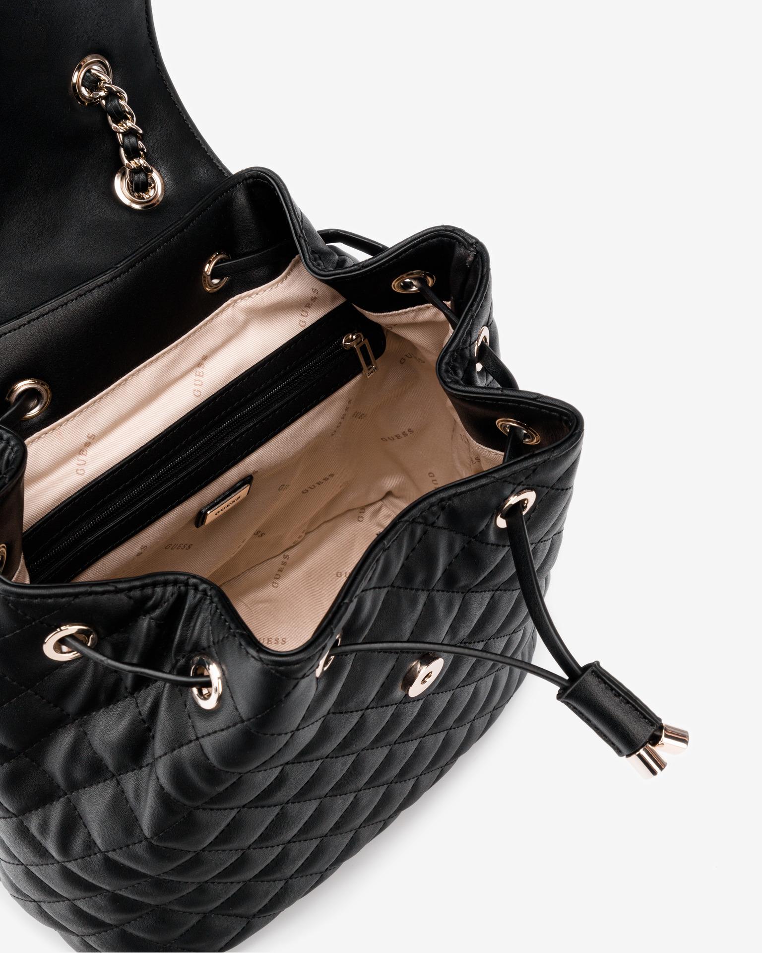 Guess czarny plecak Illy