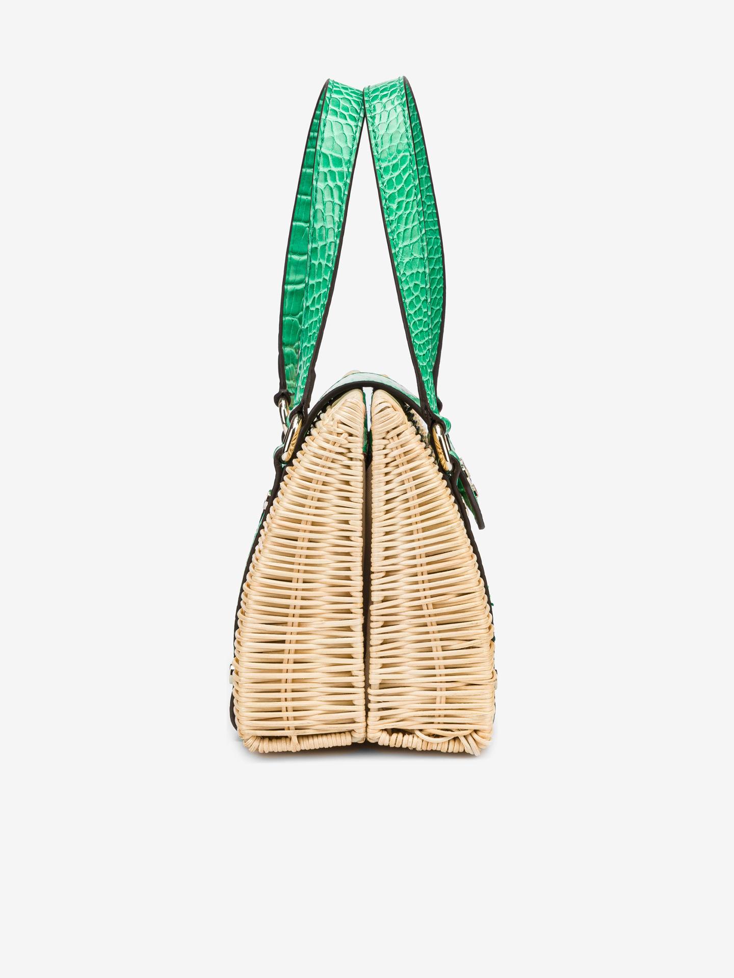 Guess zielony torebka Paloma