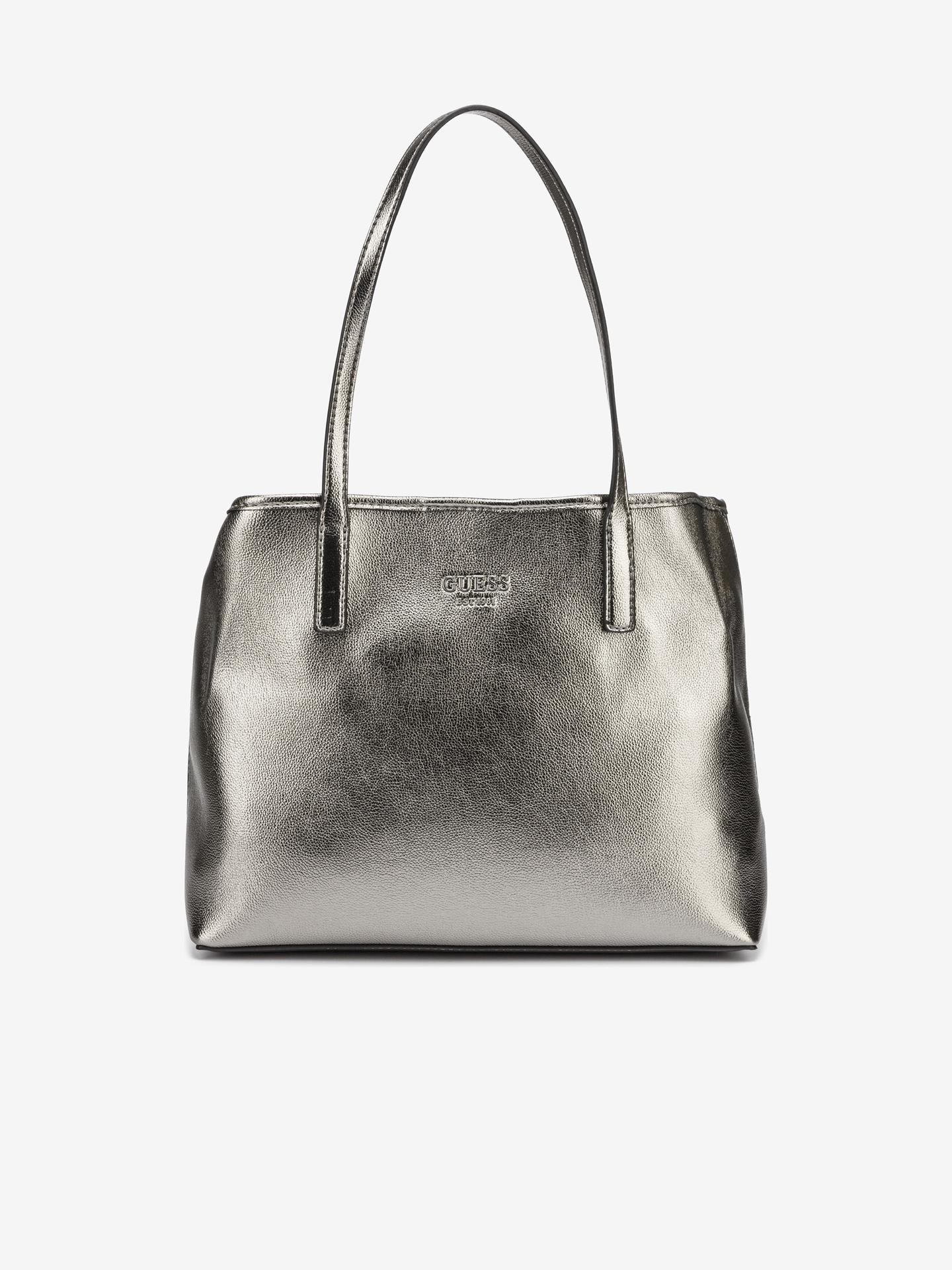 Guess srebrny torebka Vikky