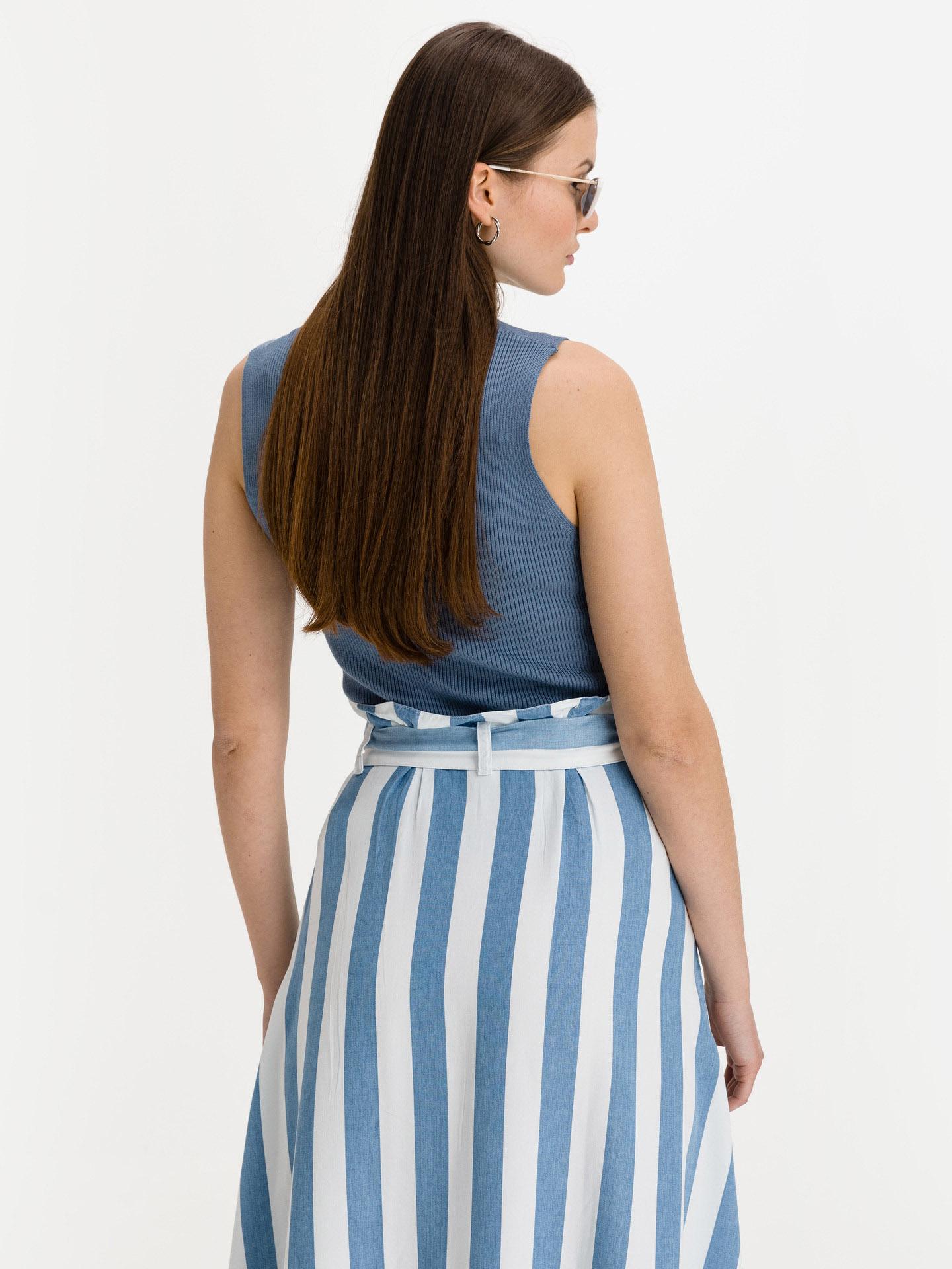 Ichi niebieski damska top Marsha