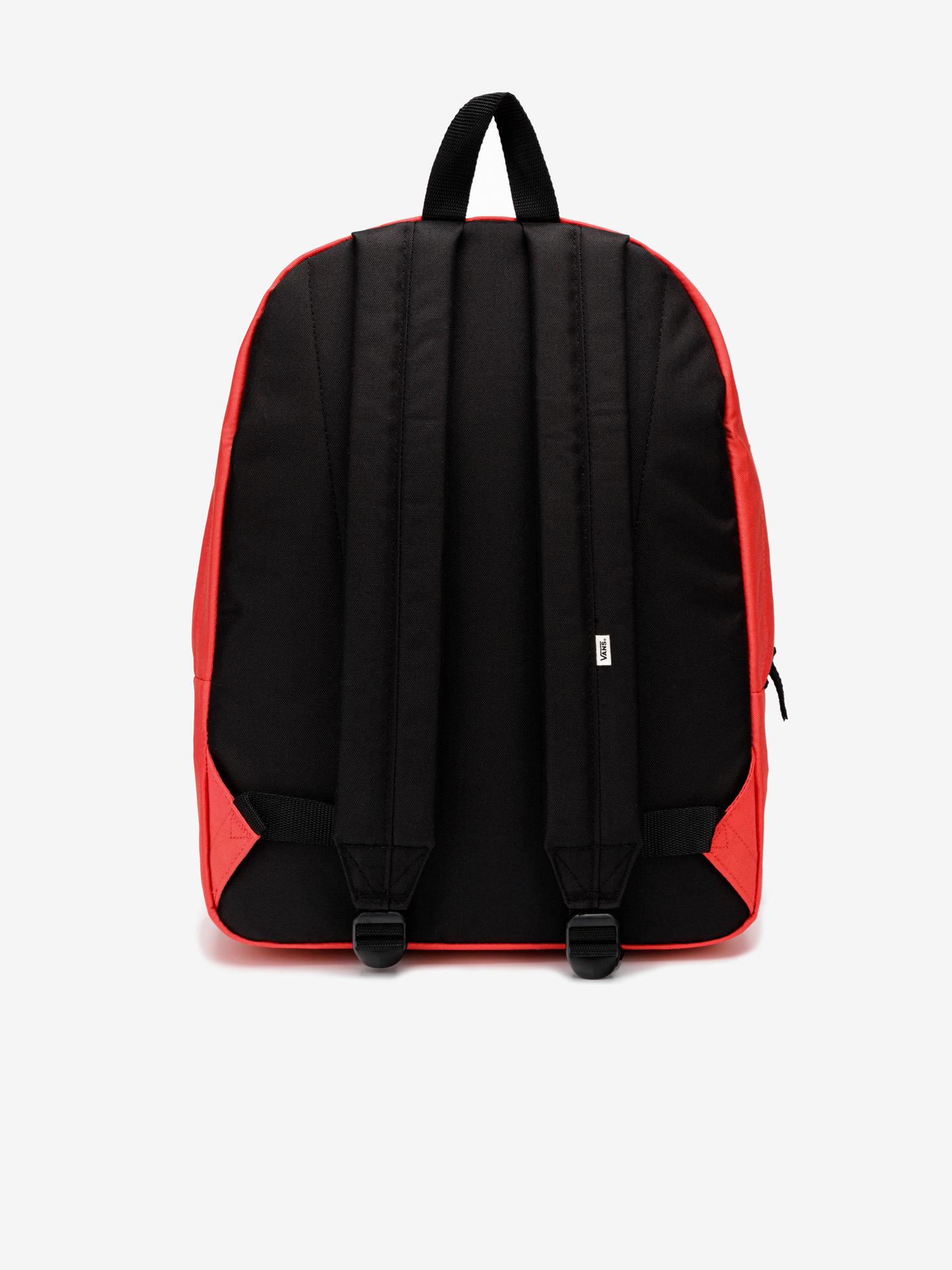 Vans czerwony plecak Realm