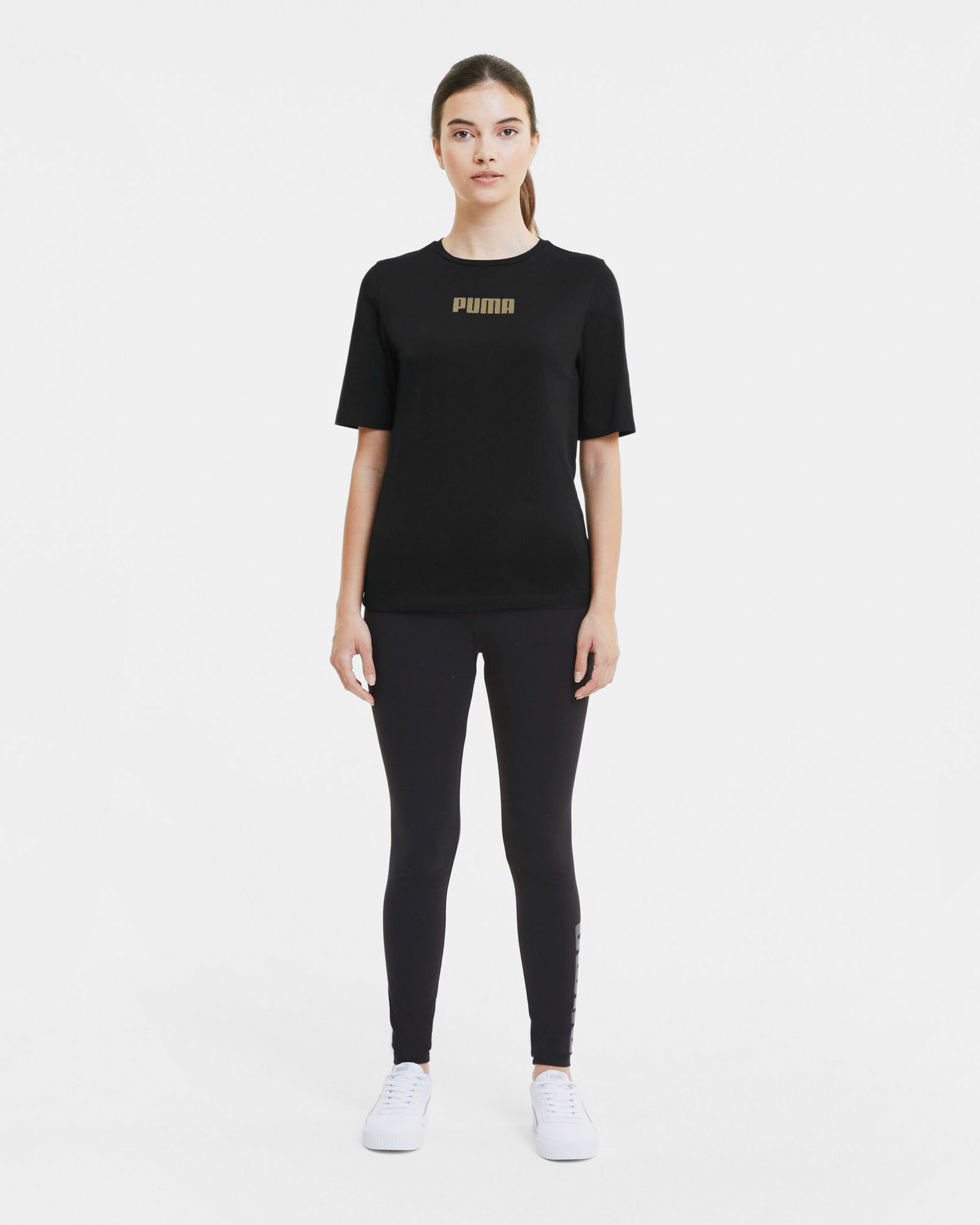 Puma Koszulka damska czarny  Basics