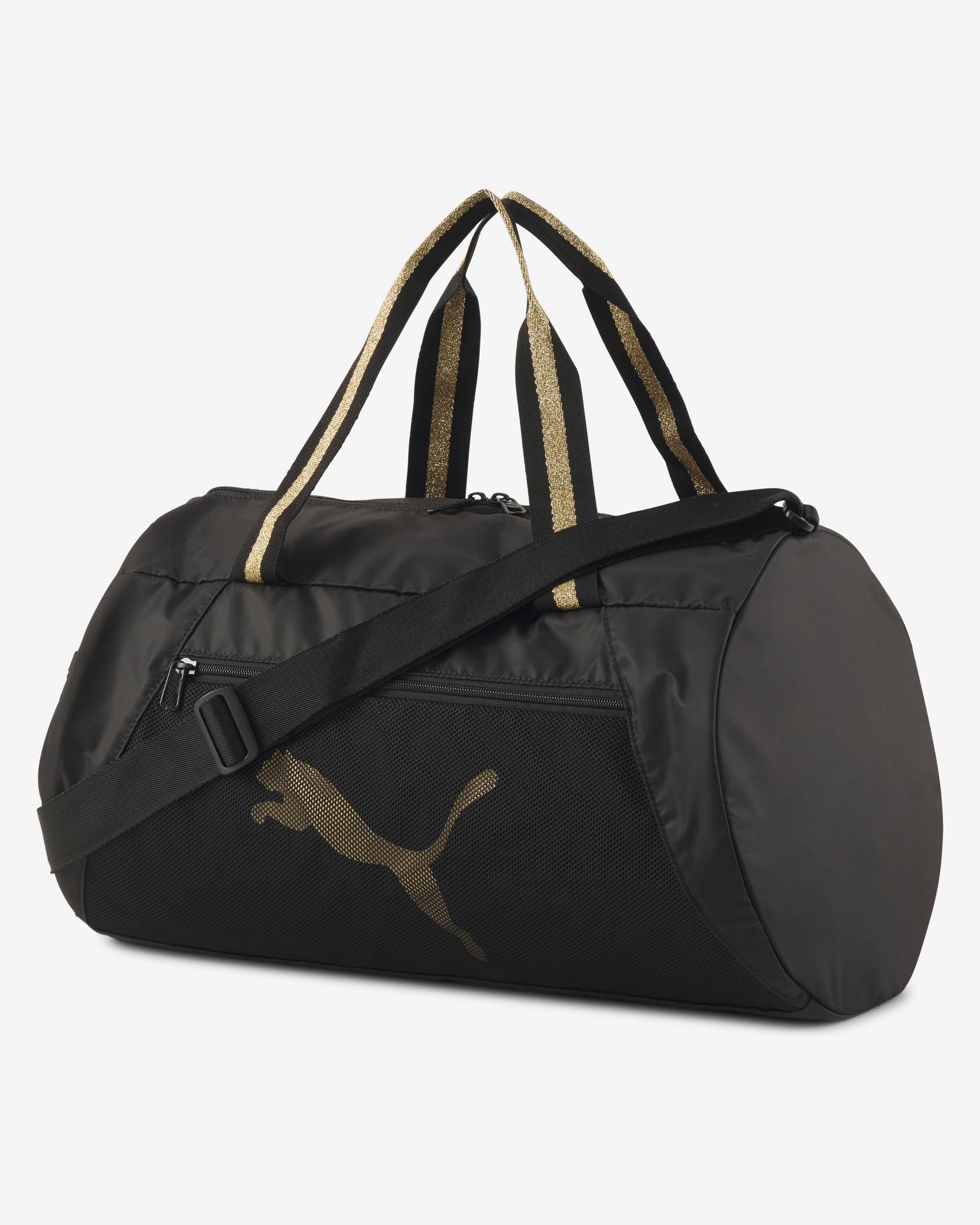 Puma czarny turystyczna torba AT ESS Barrel