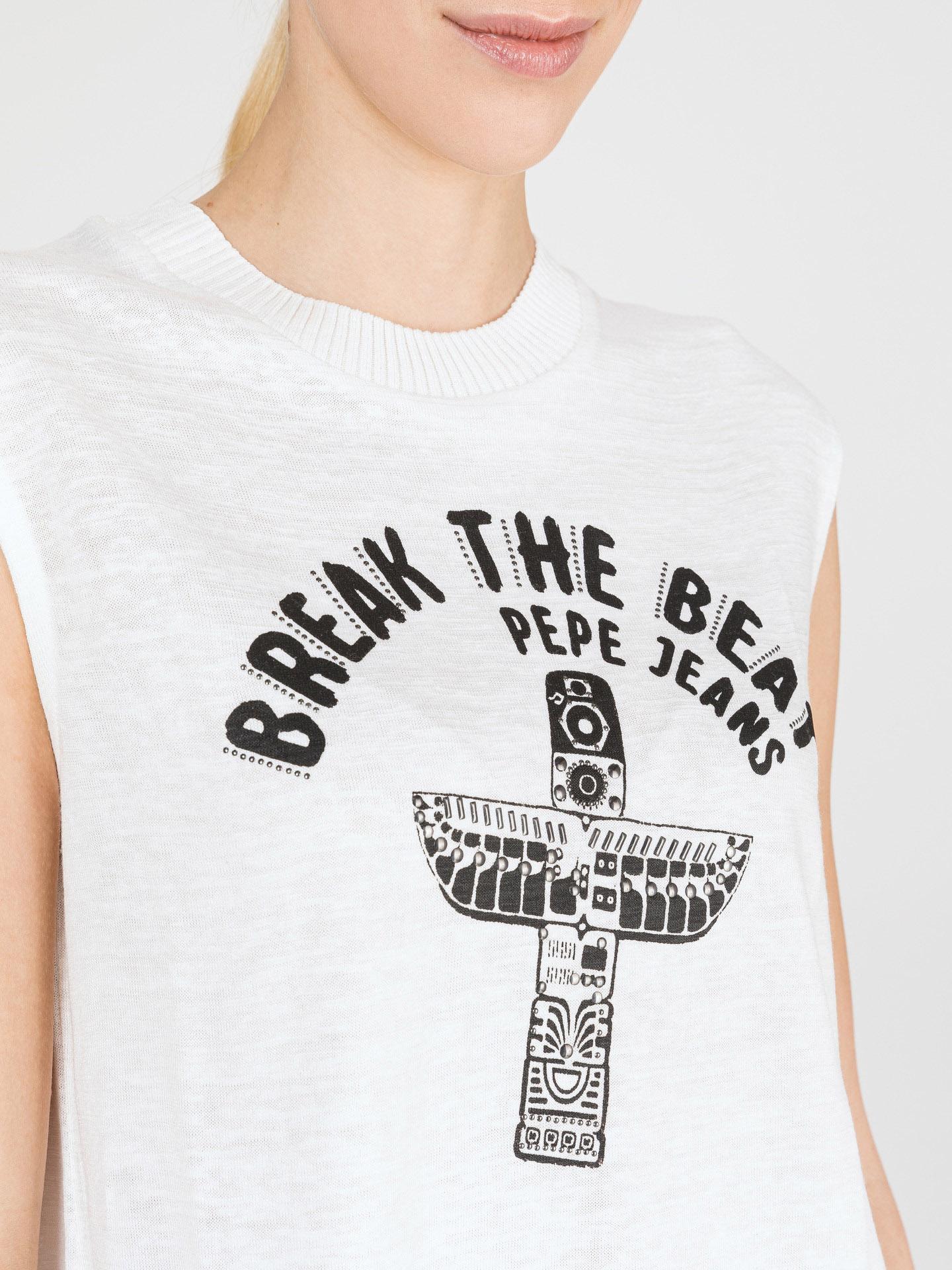 Pepe Jeans Carly Tank Top Biały