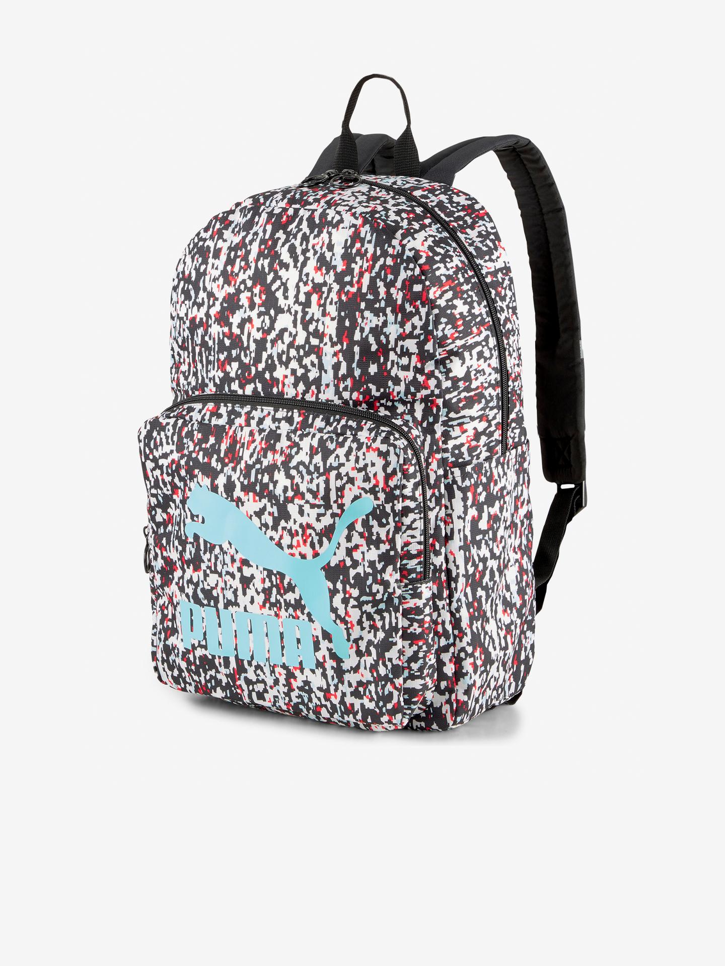Puma fioletowy plecak Originals Urban