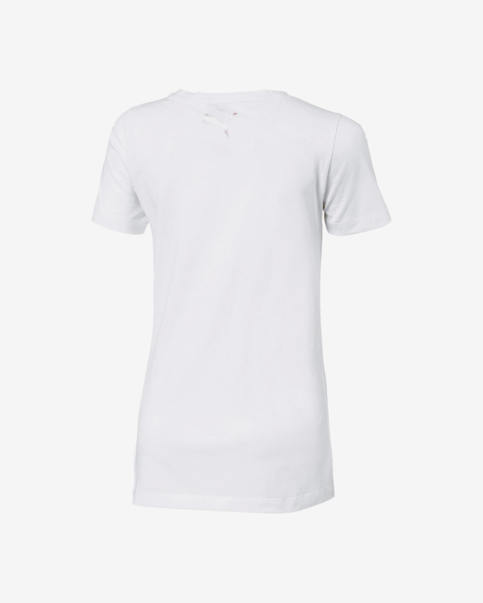 Puma Koszulka chłopięca biały
