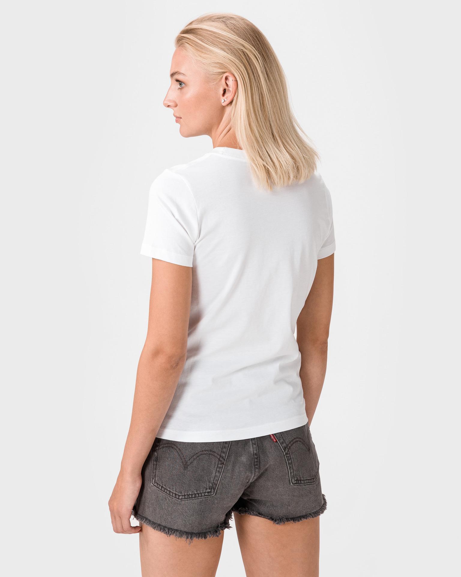 Converse biały damska koszulka
