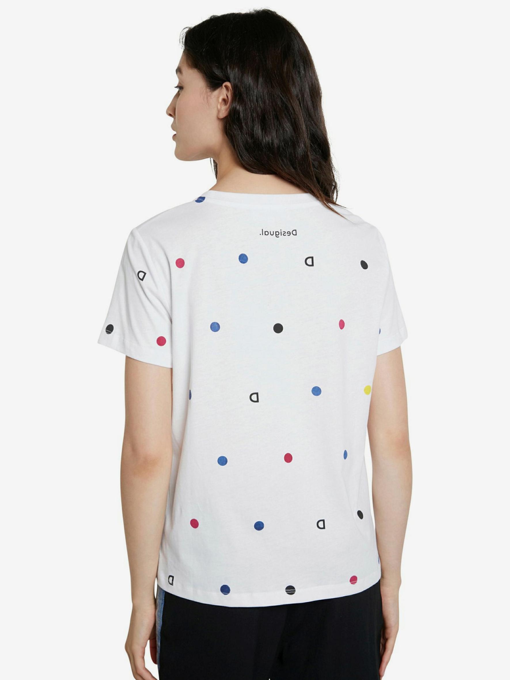 Desigual biały koszulka Now